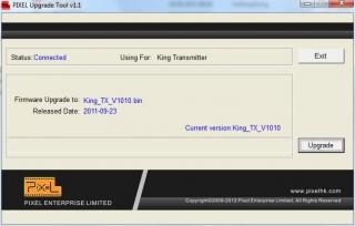 Pixel King Firmware Flash Software