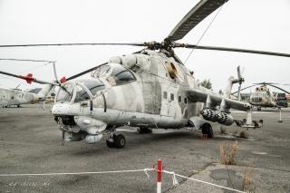 Luftwaffenmuseum Berlin Gatow - Mil Mi 24 Hind