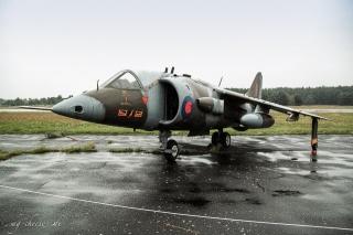 Luftwaffenmuseum Berlin Gatow - Hawker Siddeley Harrier