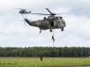 Airday Nordholz 2013 - Flying Display - Westland Sea King Mk.41 und Sea Lynx Mk.88/88A der deutschen Marine - Fast Roping