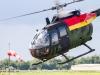 Airday Nordholz 2013 Flying Display - Bo 105 der deutschen Heereflieger bei einer Kunstflug Vorführung