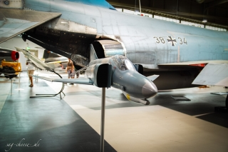 Luftwaffenmuseum Berlin Gatow - F4-F Phantom Modell