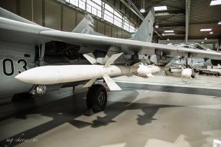 Luftwaffenmuseum Berlin Gatow - Bewaffnung Mig 29