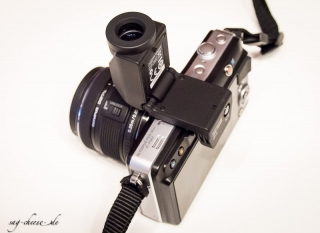 Olympus VF2 an PEN E-PM2