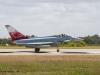 Eurofighter Typhoon vom JG 71 R / Jagdbombergeschwader 31 Boelcke aus Nörvenich bei Flugvorführung - Phantom Pharewell beim Jagdgeschwader 71 Richthofen