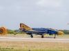 F-4F Phantom II vom JG 71 R mit Sonderlackierung bei der Landung - Phantom Pharewell beim Jagdgeschwader 71 Richthofen