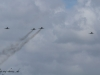 F-4F Phantom II vom JG 71 R mit Eurofighter Typhoon im Formationsflug - Phantom Pharewell beim Jagdgeschwader 71 Richthofen