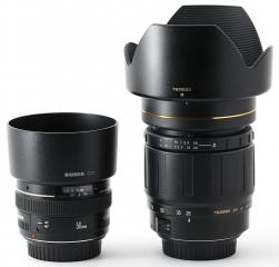 Canon EF 50mm 1:1.4 USM und Tamron SP AF LD IF Aspherical 28-105mm 1:2.8