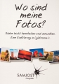 Buchcover Wo sind meine Fotos? von Sam Jost