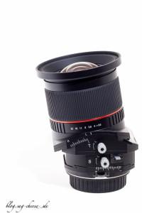 Walimex Pro Samyang Tilt Shift 24mm f3.5 (3 von 4)