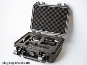 Aputure DEC LensRegain im mitgelieferten Transportkoffer