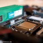 Hackintosh Selbstbau - Intel i7 6700K CPU Crucial DDR4 RAM