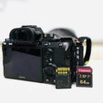 Die richtige SD-Karte für die Sony Alpha A7 III